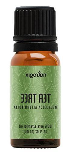 Tea Tree Essential Oil by Natrogix Pure Therapeutic Grade Tea Tree Certified Recipe E-Book