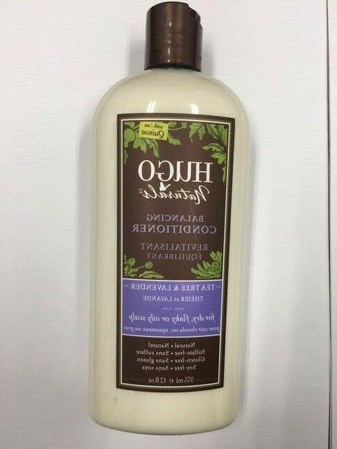 Hugo Naturals Tea Tree & Lavender Balancing Conditioner dry,