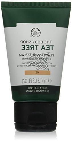 The Body Shop Tea Tree BB Cream, for Medium Skin Tones, Made