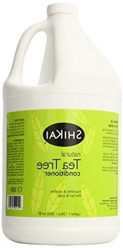 Shikai Tea Tree Conditioner, 128 Ounce by ShiKai