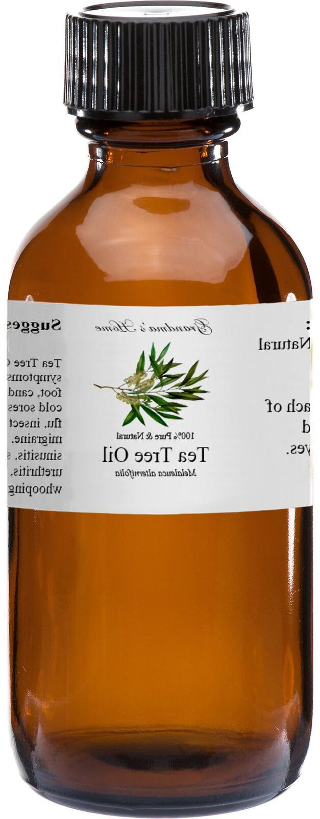 tea tree essential oil 2 oz 100