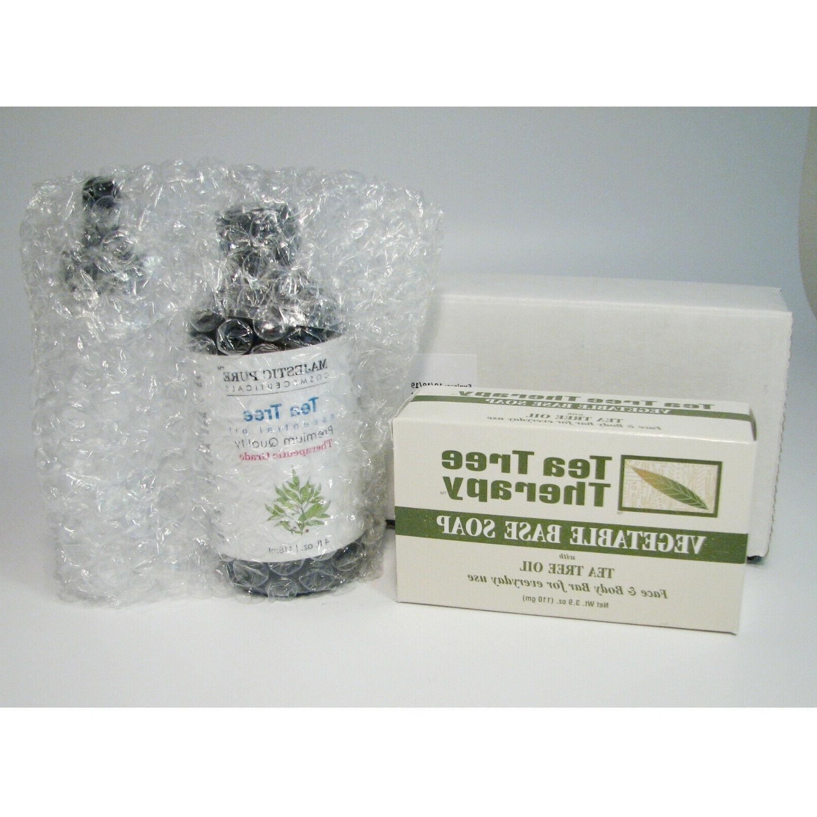 tea tree essential oil 4 ounce plus
