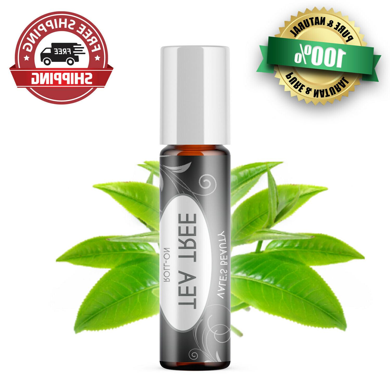 tea tree essential oil roll on diluted