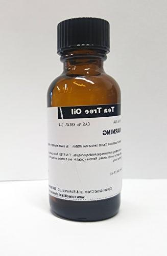 Tea Tree Essential Oil 2 oz, 100% Pure,Uncut. Soap making su