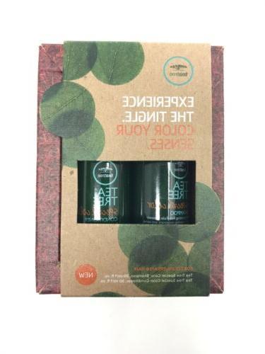 tea tree experience the tingle shampoo conditioner