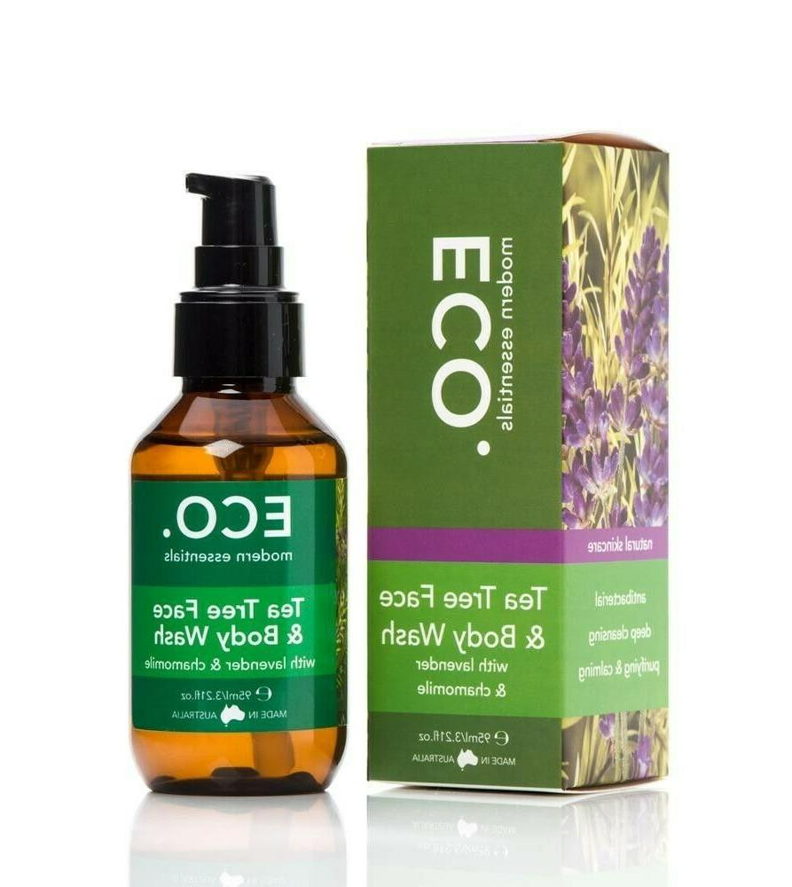 tea tree face and body wash oil