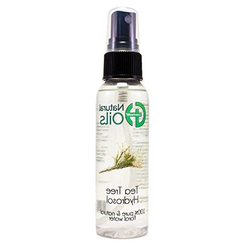4 fl oz Tea Tree Floral Water  w/ Black Spray Cap
