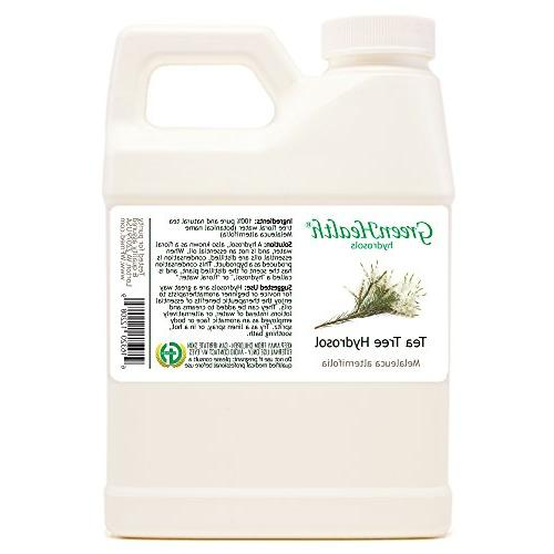 Tea Tree Hydrosol - 16 fl Jug Cap 100% from essential