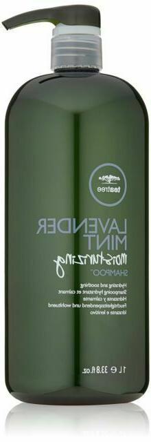 tea tree lavender mint moisturizing shampoo 1000ml