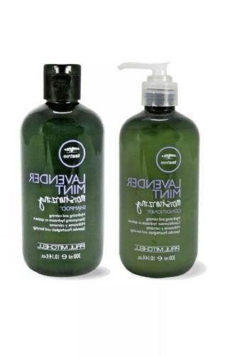 tea tree lavender mint moisturizing shampoo conditioner