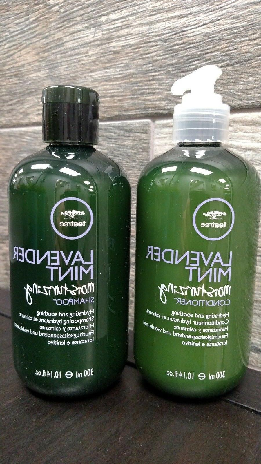 Paul Mitchell Tea Tree Lavender Mint Moisturizing Shampoo+Co