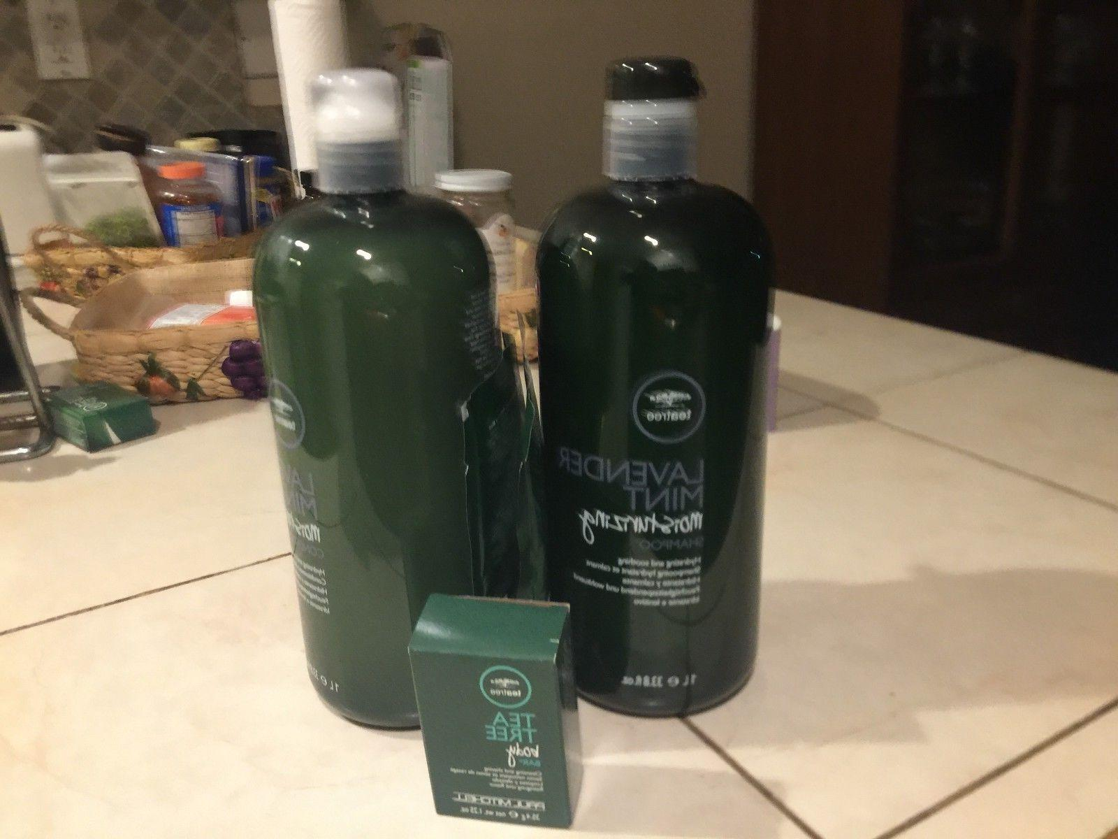 tea tree lavender mint shampoo and conditioner