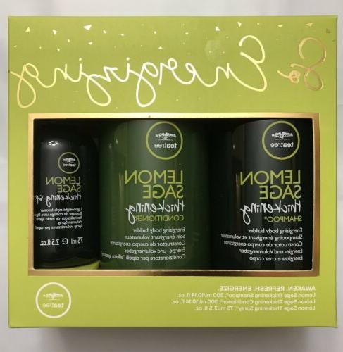 tea tree lemon sage shampoo and conditioner