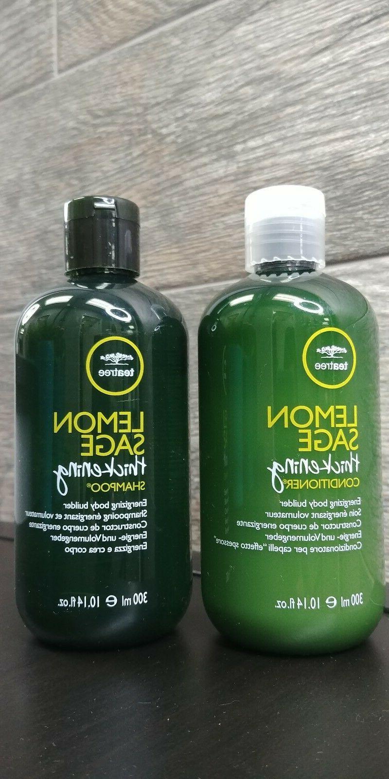 Paul Mitchell Tea Tree Lemon Sage Thickening Shampoo/Conditi