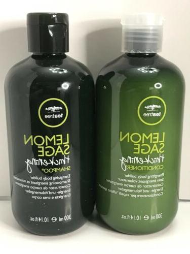 Paul Mitchell Tea Tree Lemon Sage Thickening Shampoo & Condi