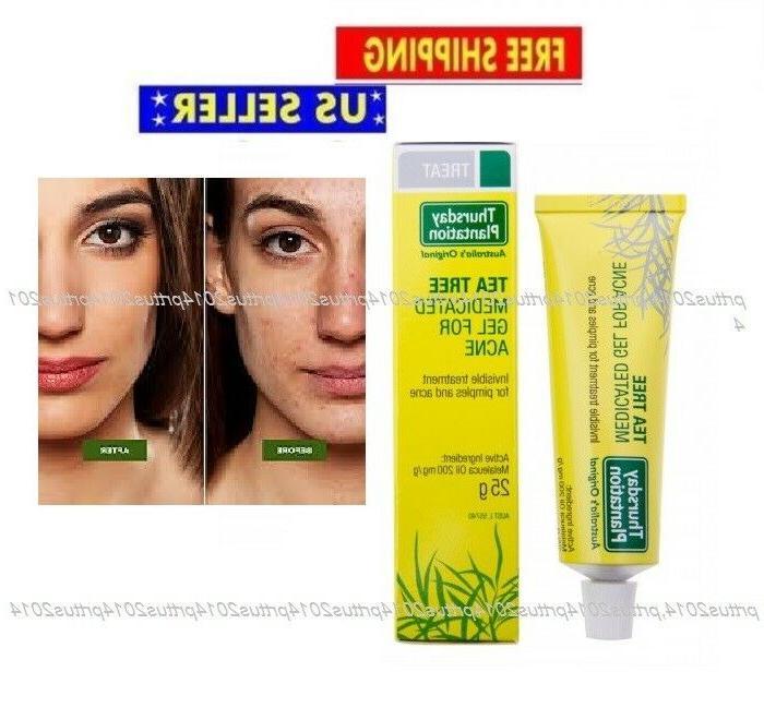 tea tree medicated gel for acne 25g