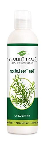 Tea Tree Melaleuca Lotion 8 oz Aromatherapy Natural, Made w/