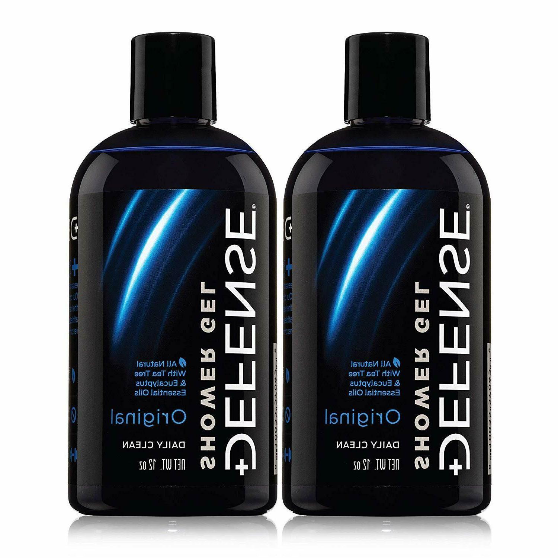 Defense Soap Body Wash 12 Fl Oz  Tea Tree Oil and Eucalyptus