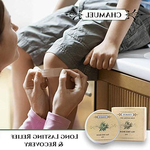 TEA -100% | Relieves Common Great Cream Eczema, Psoriasis, Dry Chapped Saddle more! Guaranteed