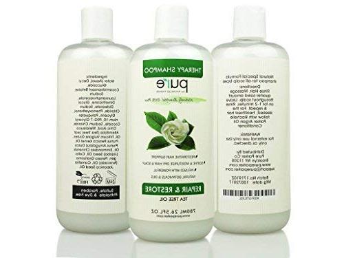 PURE Tea Oil Shampoo & Conditioner 26.5 each Tea Tree Tea Conditioner for Deep & Dry Hair