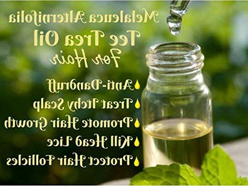 PURE Tea Shampoo Conditioner 26.5 each - Tea Tree Tea Tree for Deep Itchy & Dry Hair