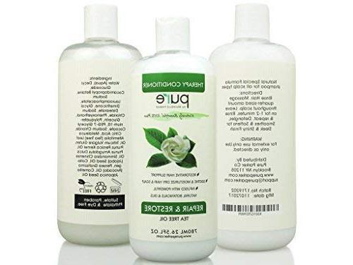 PURE Tea Tree Shampoo Conditioner Tea Tree Deep Itchy & Dry Hair