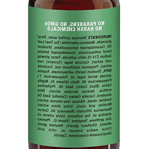 Tea Tree Oil Hair Shampoo, Free Pure Oil, Deep Dandruff, & Women- 16 oz