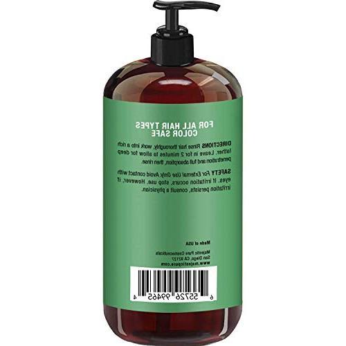 Tea Oil Shampoo, Sulfate Pure Tree Essential Oil, Dandruff, oz