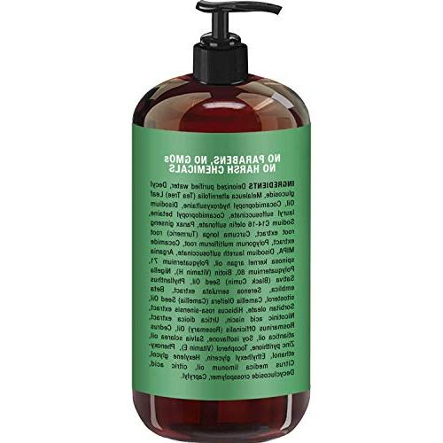 Tea Shampoo, Sulfate Pure Oil, Dandruff, Itchy & 16