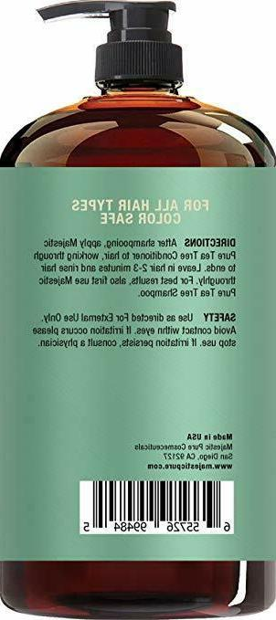 Tea Conditioner, Reduce Itchy Scalp-16 Oz
