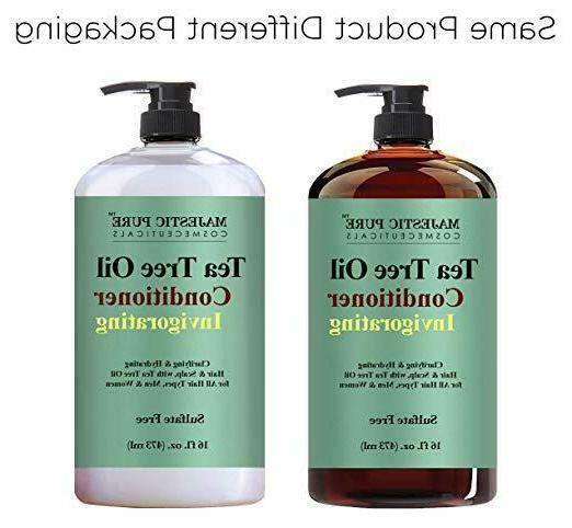 Tea Tree Oil Conditioner, Reduce Scalp-16 Oz