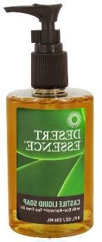 Tea Tree Oil Liquid Castile Soap-240 ml Brand: Desert Essenc