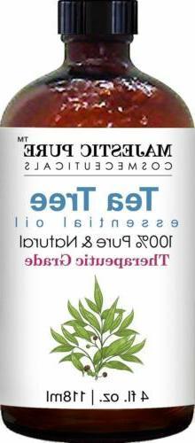 Majestic Pure Tea Oil Pure Natural Therapeutic Grade Oil