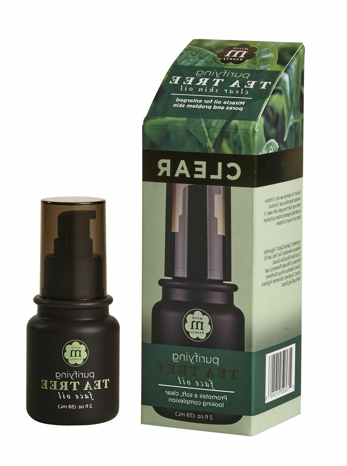 tea tree oil purifying face oil 2