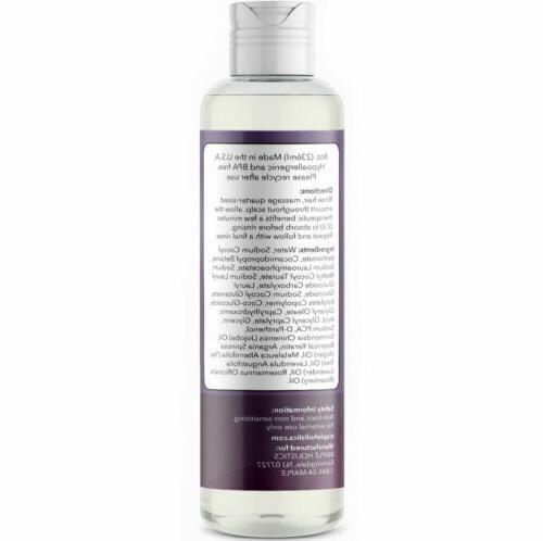 MAPLE Oil Shampoo + Therapeutic NATURAL