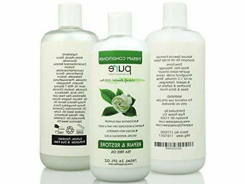 Tea Shampoo + Conditioner Set Loss Regrowth Dry