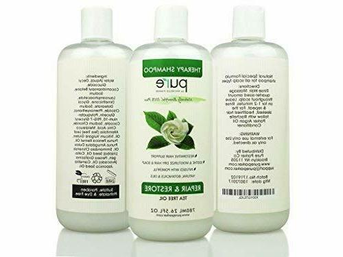 Tea Tree Oil + Conditioner Set Loss Dry Hair