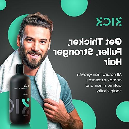 Mens -Tea Oil Shampoo with - + Sulfate Free Shampoo -Powerful Anti Dandruff for 525ml