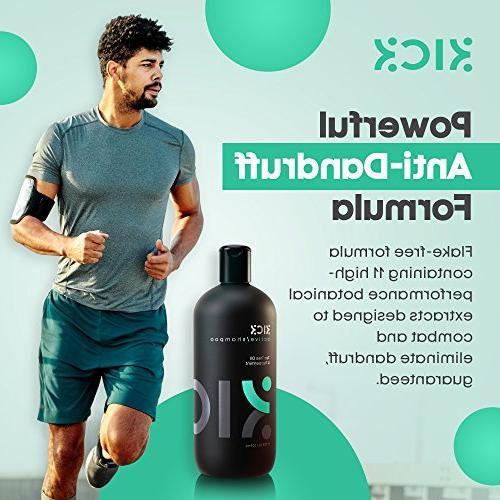 -Tea Shampoo with Men - Scalp + Sulfate Free Shampoo Thinning Hair -Powerful Dandruff Shampoo for