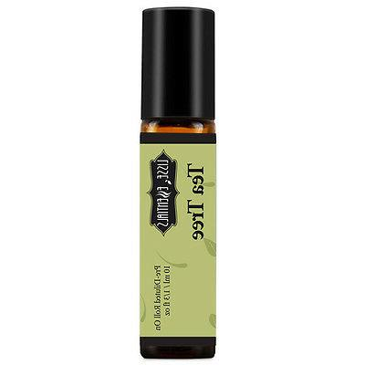 tea tree pre diluted essential oil roll