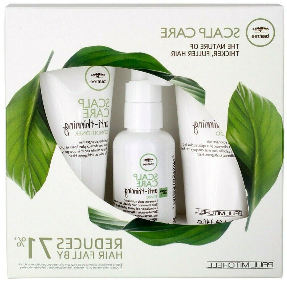 tea tree scalp care anti thinning trio