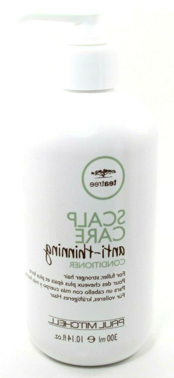 Tea Tree Scalp Care Anti-Thinning Conditioner, 33.8 Fl Oz