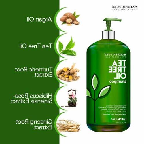 MAJESTIC Tea Shampoo and Conditioner fl