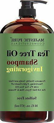 tea tree shampoo sulfate free with 5