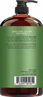 Majestic Tea Tree Shampoo, Sulfate Free 5% Tea Tree Oil,