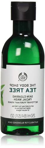 Tea Tree Skin Clearing Facial Wash Cleanse Blemishes Gluten-