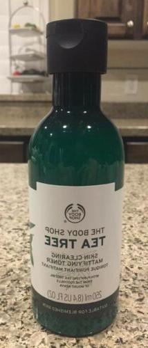 The Body Shop Tea Tree Skin Clearing Mattifying Toner 8.4 oz