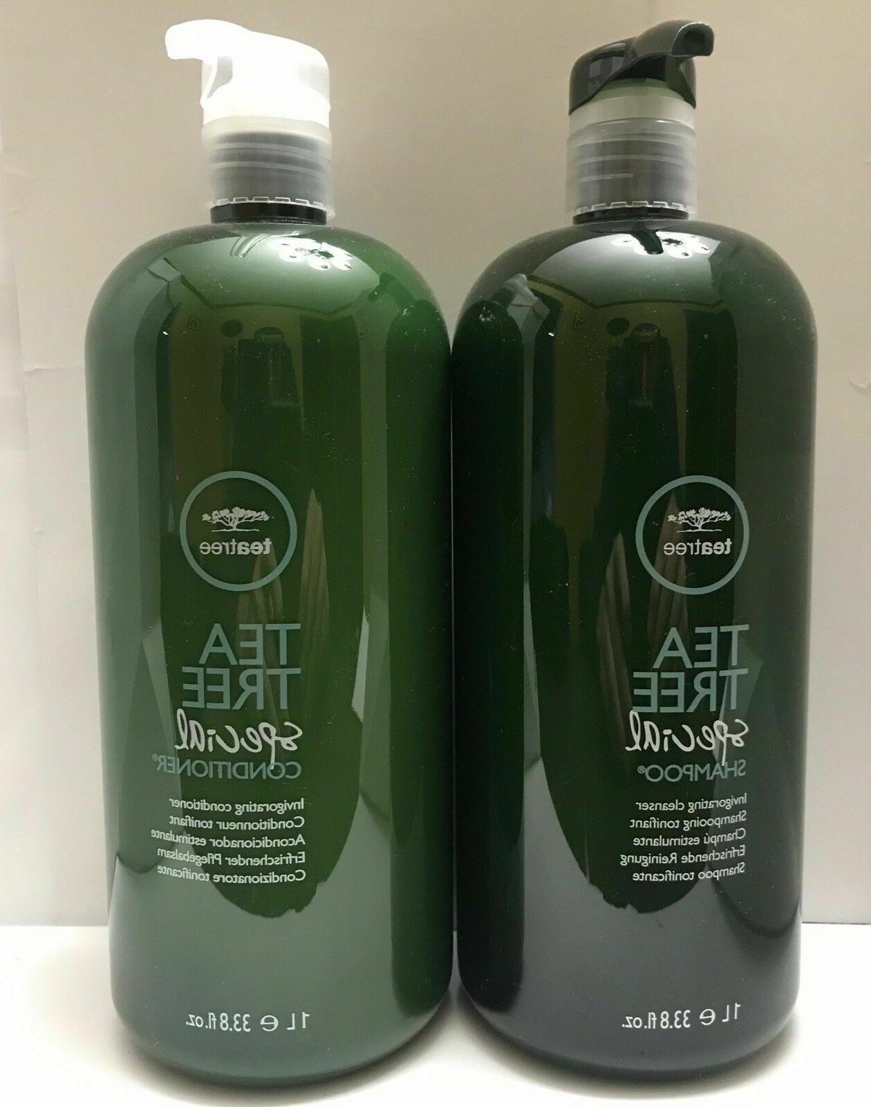 tea tree special shampoo conditioner duo liter