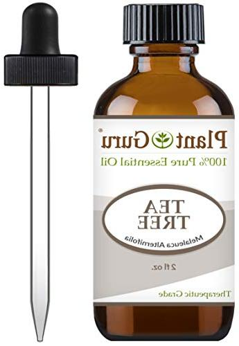 Tea Tree 2 oz Undiluted Grade of For Skin, Hair Growth, Scalp Aromatherapy