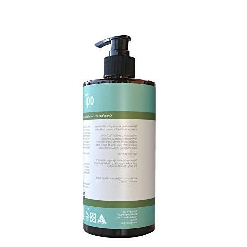 Tea Oil Wash to Oily Skin 16.9 oz - pH Antibacterial, & Antifungal Natural Wash for Men Women-Sulphate, Soap & Paraben Free-Made Australia